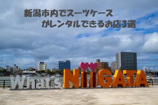 料金比較|新潟でスーツケースレンタル5選!一番お得なのは?