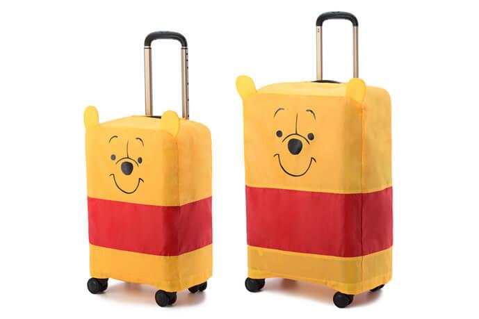 プーさん好き必見!可愛すぎるカバー付きエース製スーツケース!!