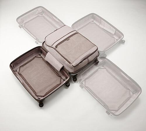デザインオフィスnendoが手掛けるプロテカのスーツケース