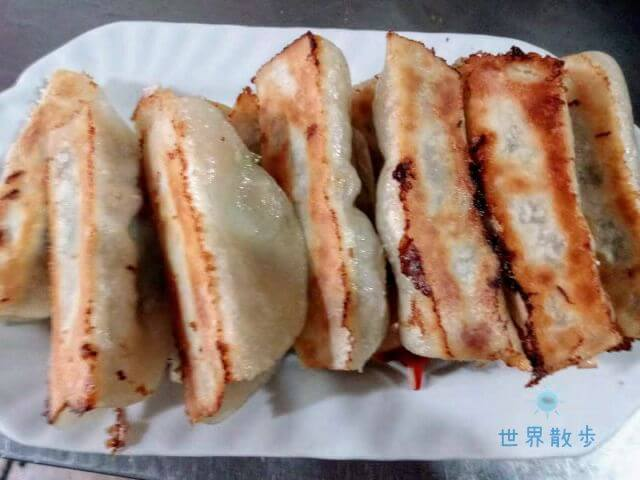 秦州锅贴馆の餃子