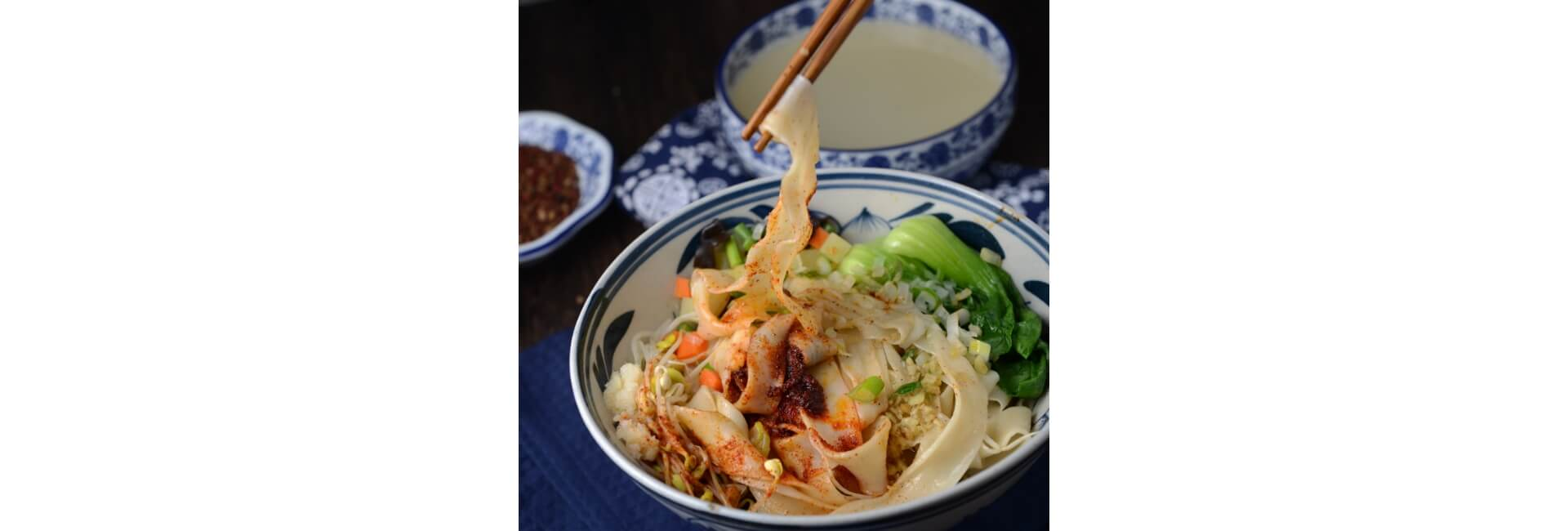 西安のビアンビアン麺
