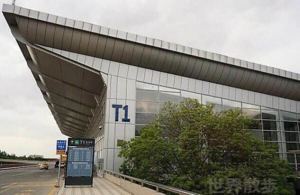蘭州中川空港のT!