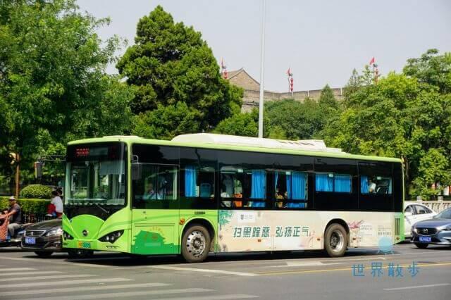 西安のバス