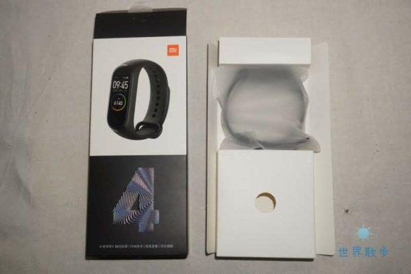 Xiaomi Mi Band 4のパッケージの中身