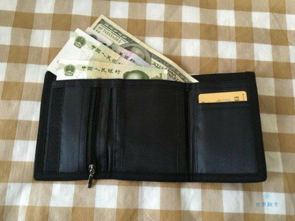 トラベルウォレットと外国通貨