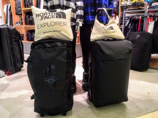 ノースフェイスのスーツケース