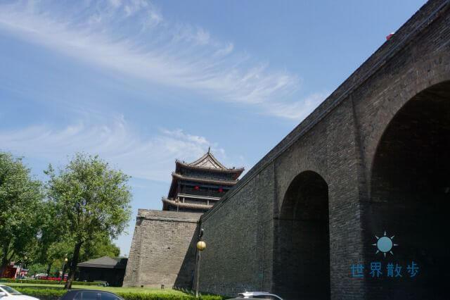 西安の城壁観光