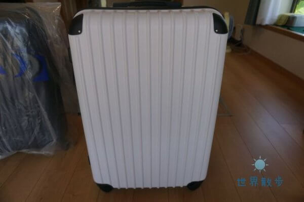 トラベルハウスのスーツケース