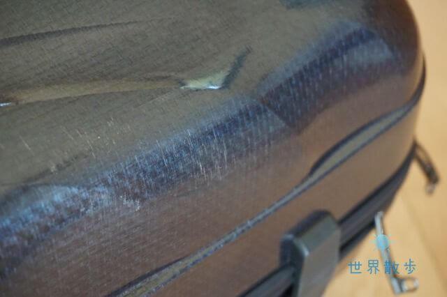 DMMいろいろレンタルのレンタルスーツケースは綺麗