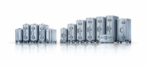 リモワのジュラルミン製スーツケース