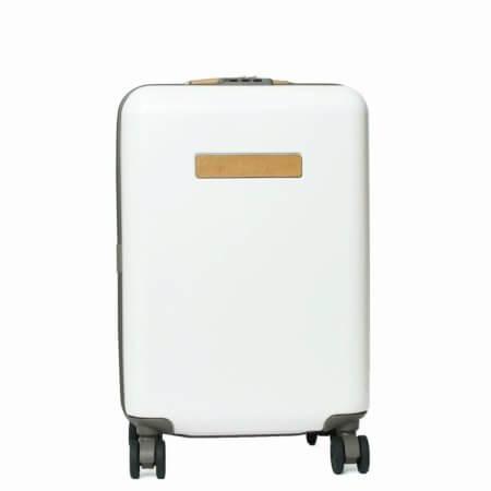 ホワイトなフェリージ・スーツケース