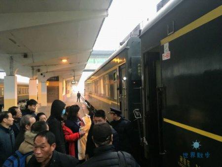 列車への乗車