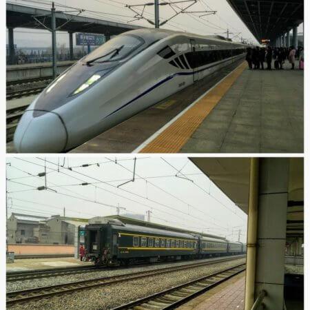 中国の列車