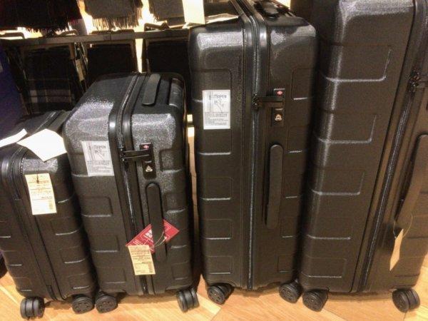 無印良品スーツケースのサイズ一覧