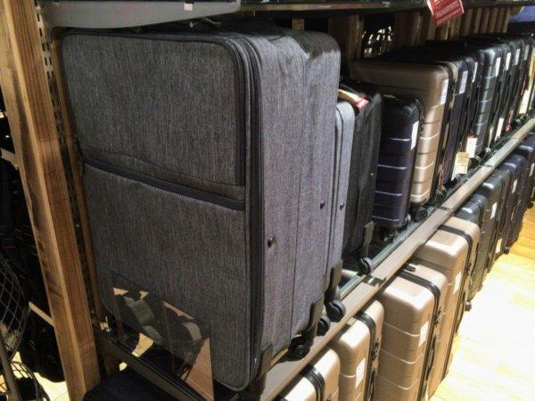 無印良品のスーツケースの種類