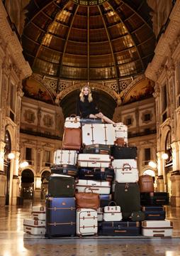 ブリックスのスーツケース