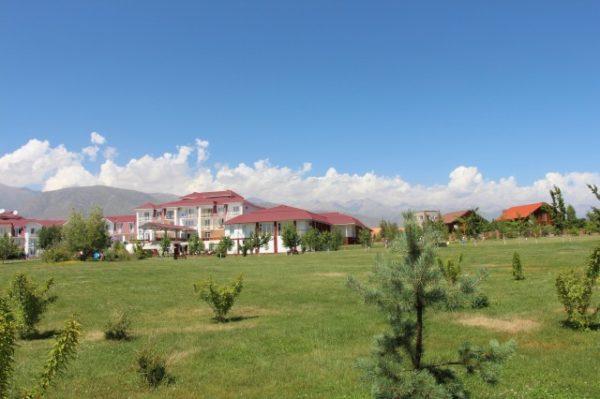 キルギスの風景