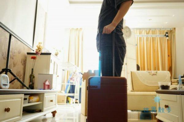 シャオミのスーツケースのキャリーバー