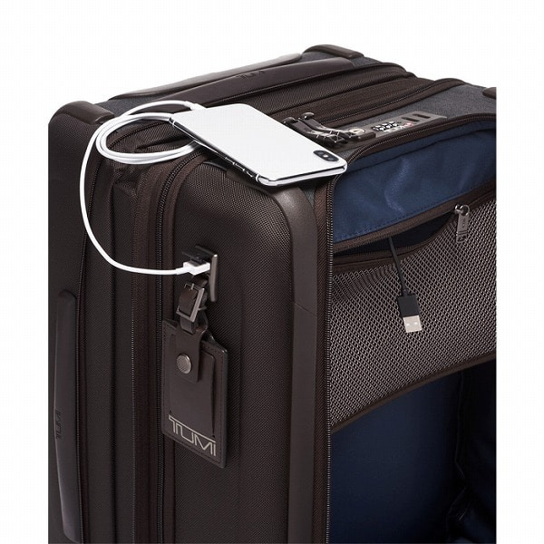 TUMIのスーツケースの機能