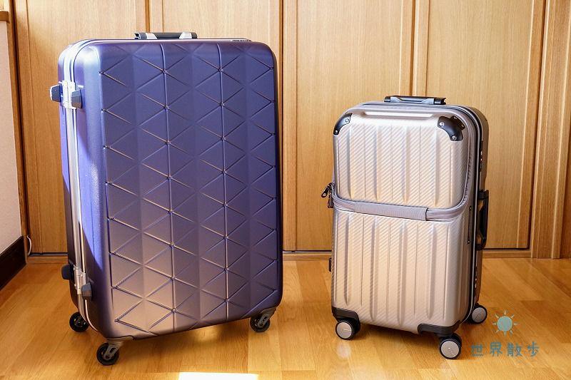 サンコーのスーツケース