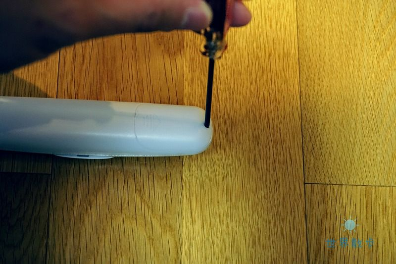 カシムララゲッジスケールの電池ケース