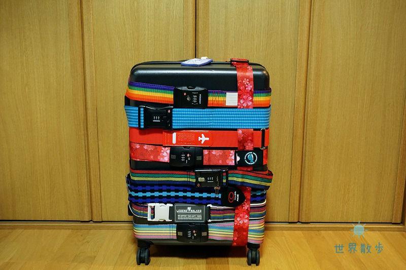 スーツケースとスーツケースベルト