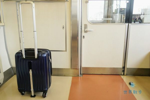 クラムアドバンスを電車で使用