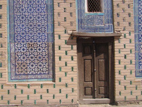 ウズベキスタンの家