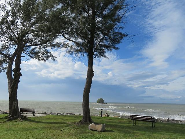 ブルネイのビーチ