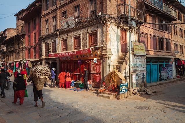 ネパールの建物