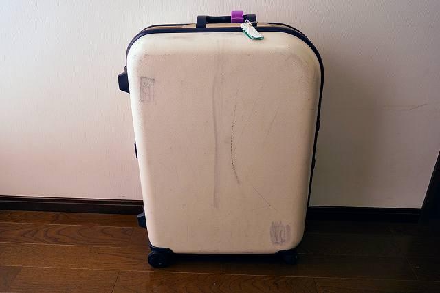 ABS樹脂のスーツケース