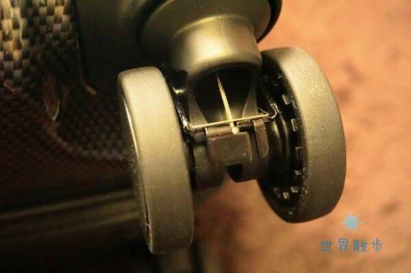 パリセイド3-Zのキャスターストッパーの仕組み