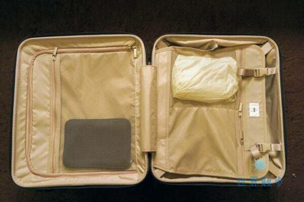 パリセイド3-Zの内装ポケット