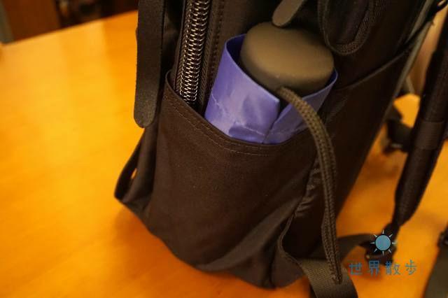 グレゴリーカバートミッションデイのサイドポケット2